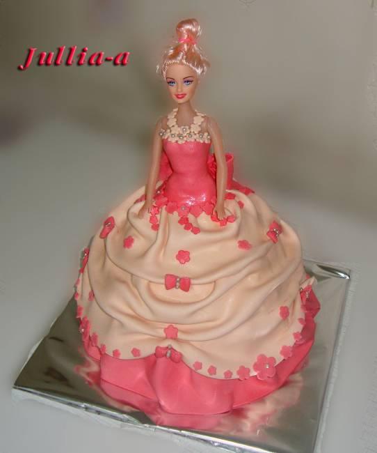 Рецепт торта кукла барби фото